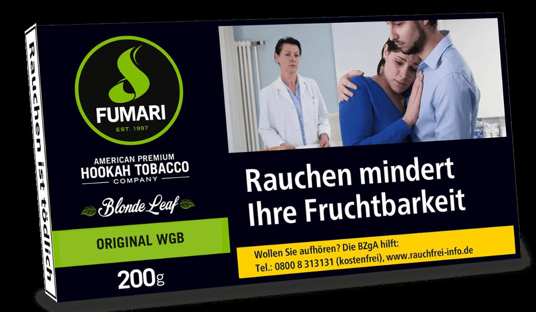 Fumari Tabak Original WGB 200g