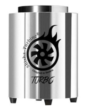 Shisha-Turbine Kohleanzünder - Silver Edition - Turbo Anzünder