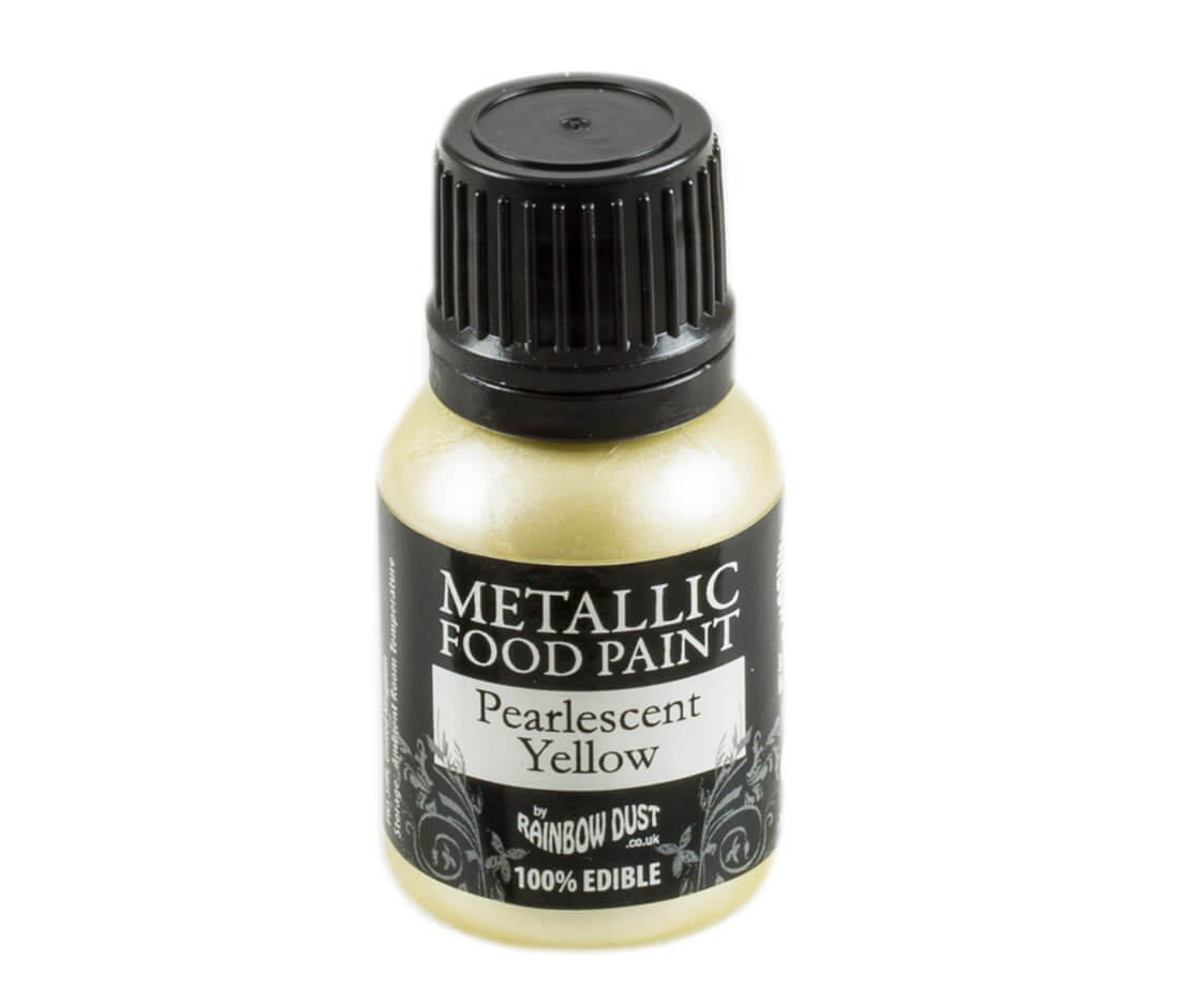 Rainbow Dust Metallic Farbe - Pearlescent Yellow