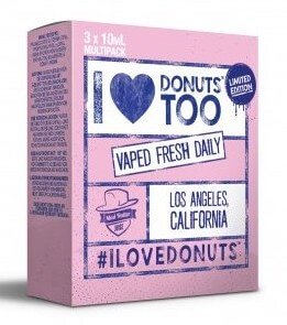 I Love Donuts too (3x10ml) - Mad Hatter Liquid - 3mg/ml