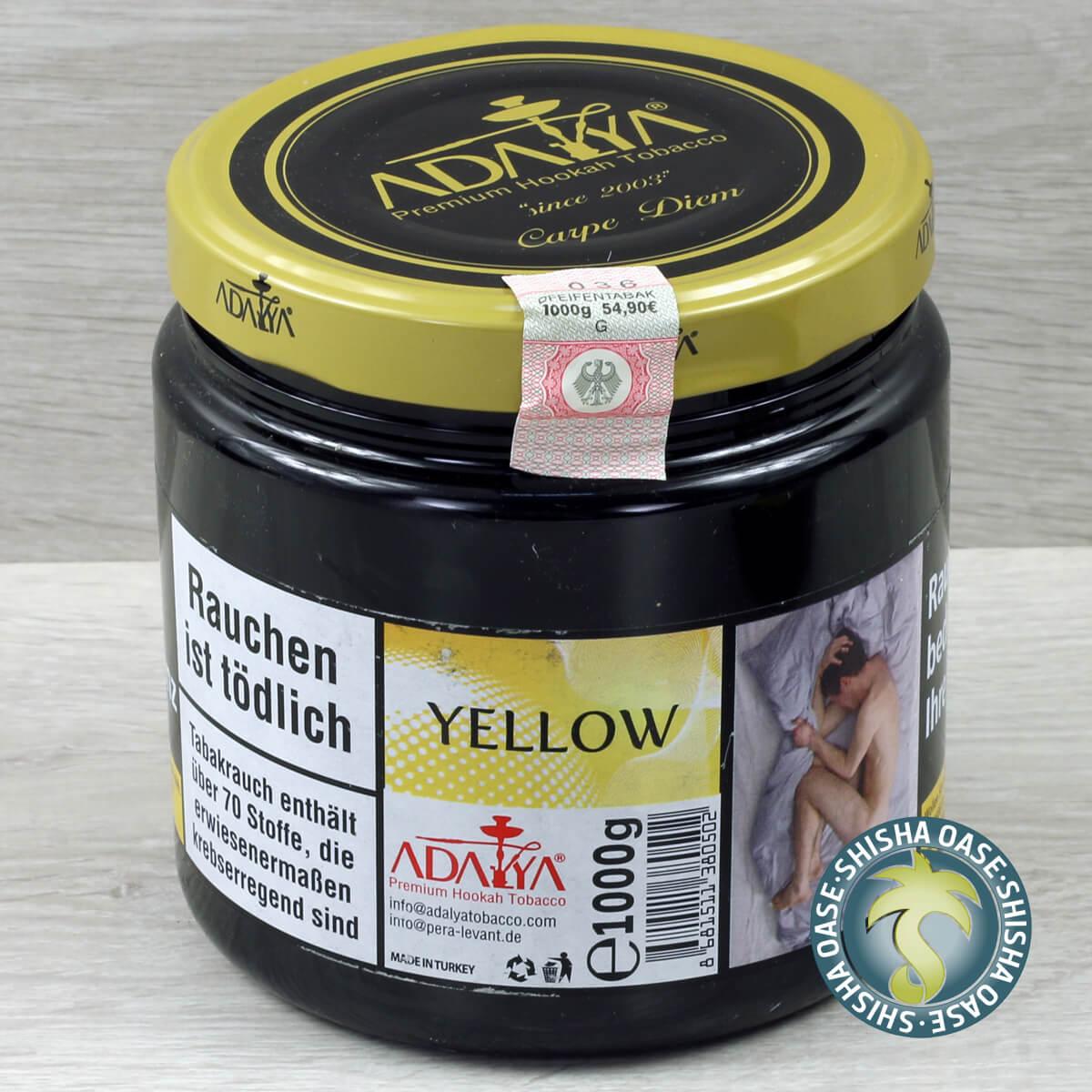 Adalya Tabak Yellow 1kg Dose