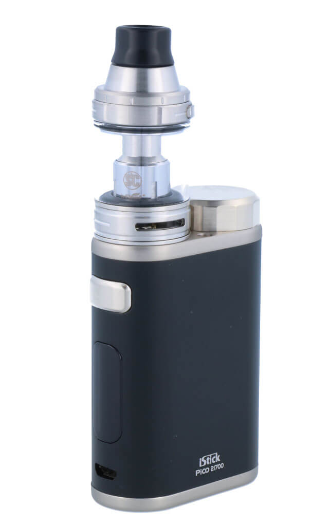 SC iStick Pico 21700 mit Ello E-Zigaretten Set schwarz