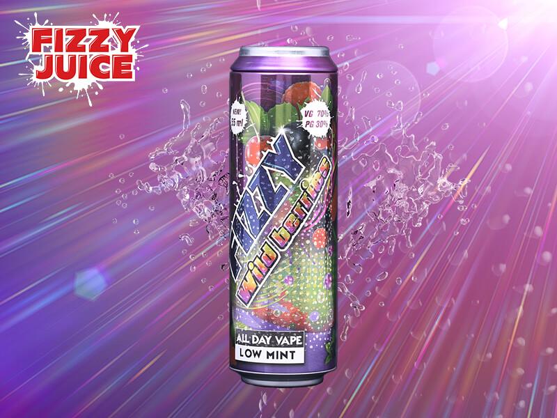 Fizzy Juice - Wildberries 55 ml - 0 mg/ml