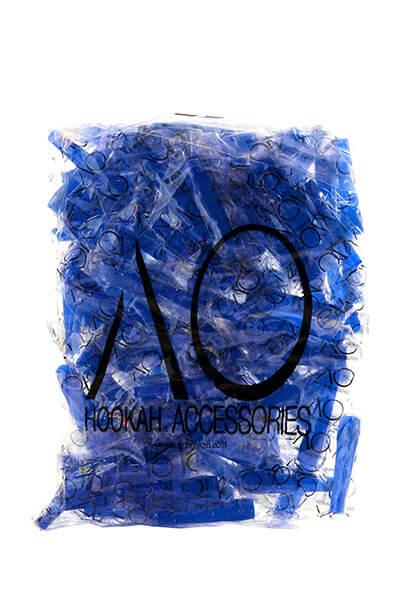 Hygienemundstücke | innen steckbar | 100 Stück | Blau