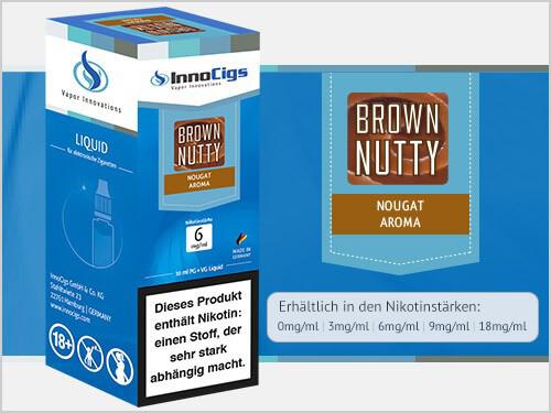 Innocigs Liquid - Brown Nutty Nougat Aroma - 0 mg/ml