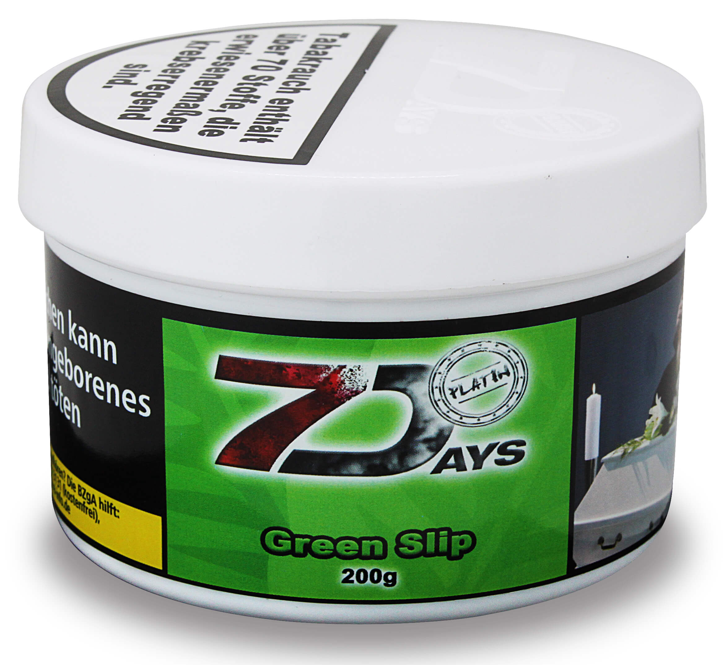 7 Days Platin Tabak - Green Slip 200g
