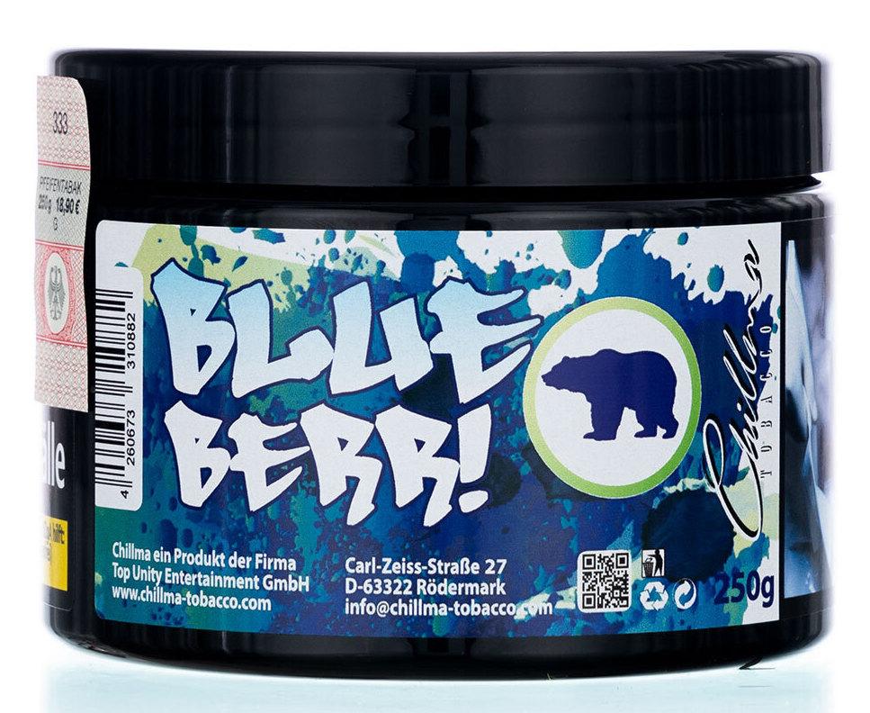Chillma Tobacco Blue Berr! 250g