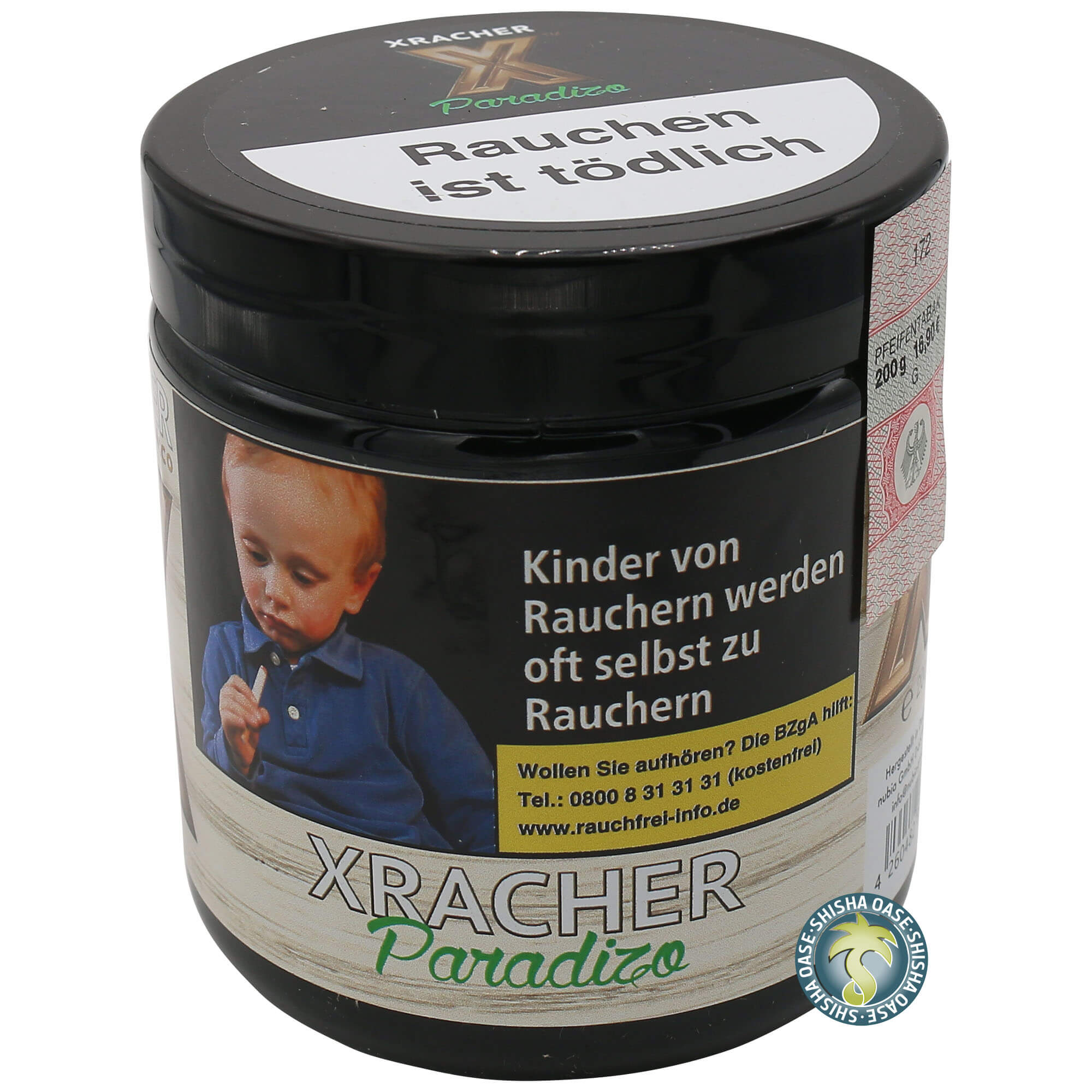 XRacher Tabak Paradizo 200g