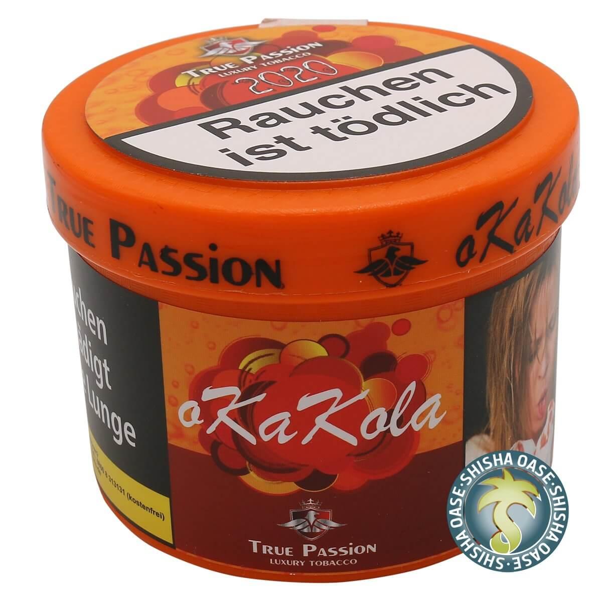 True Passion Tabak 200g Dose | OkaKola