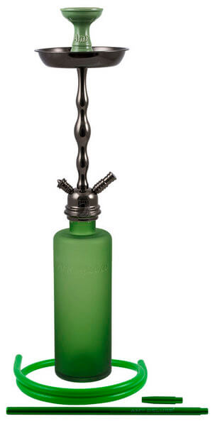 Amy Deluxe Absolut L (Rauchsäule Schwarz / Farbe Grün)