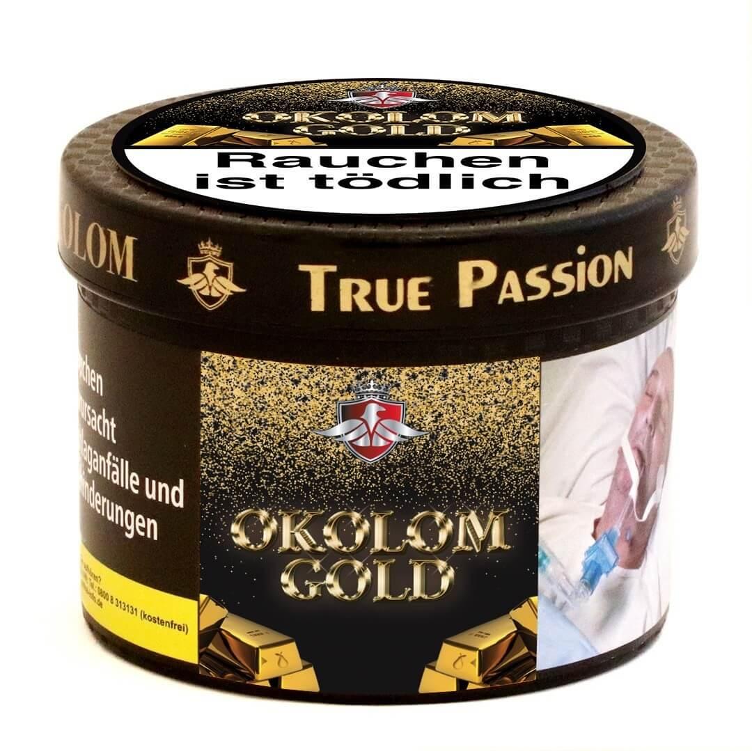 True Passion Tabak Okolom Gold 200g