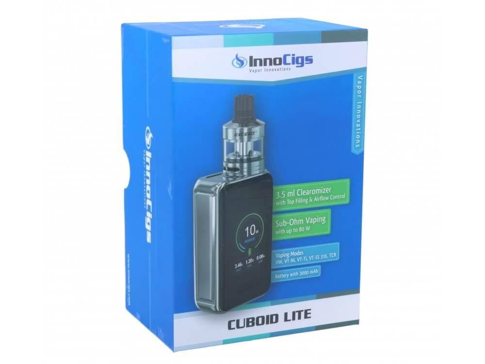 InnoCigs Cuboid Lite mit Exceed D22 - Schwarz
