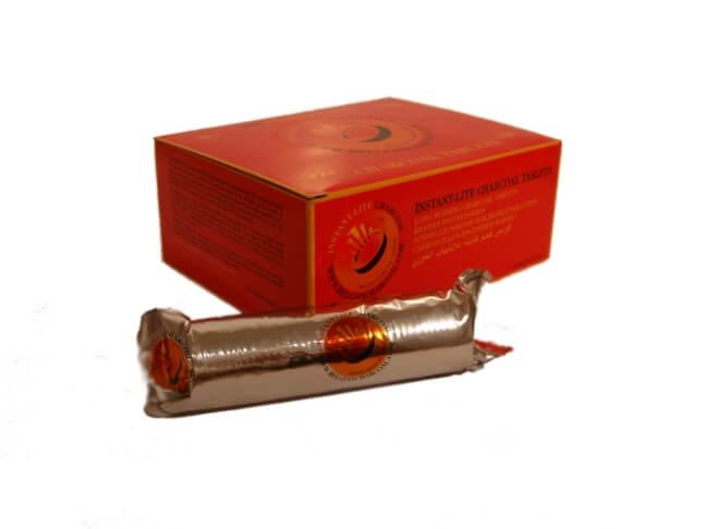 Instant-Lite 33mm - 100 Kohletabletten
