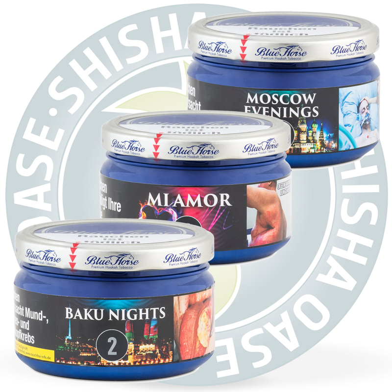 Blue Horse Tabak Produktübersicht