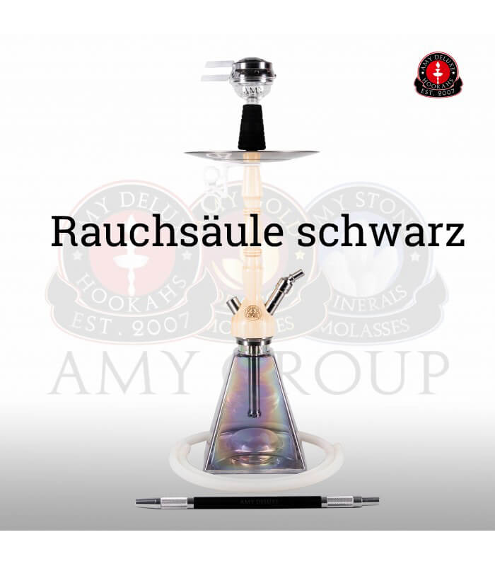 Amy Deluxe Woodini Rainbow Klick II (RS Schwarz / Farbe Transpar