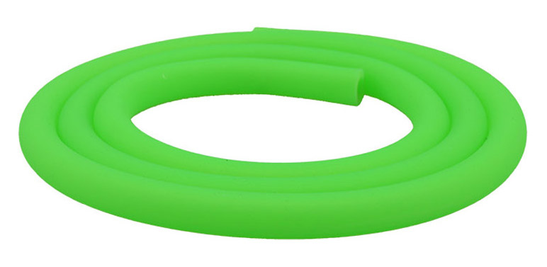 Silikonschlauch Soft Touch Matt (Neon Grün)