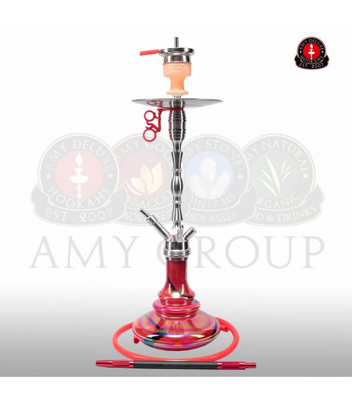 Amy Deluxe Hammer Steel SS08 Rainbow (Rot)