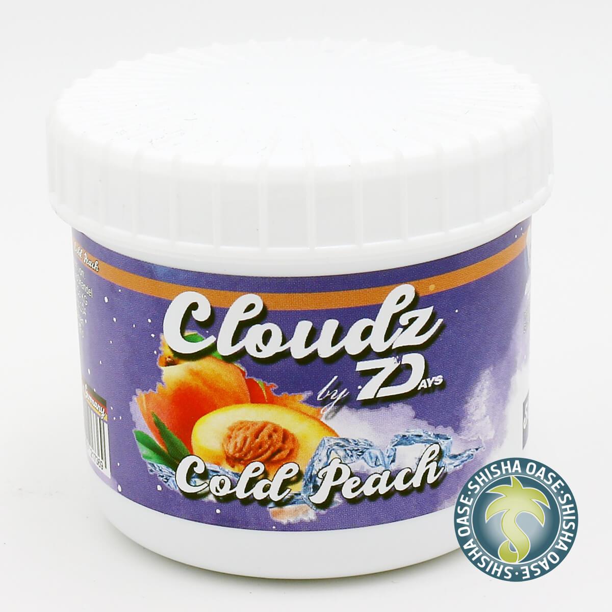Cloudz by 7 Days Dampfsteine 50g | Cold Peach
