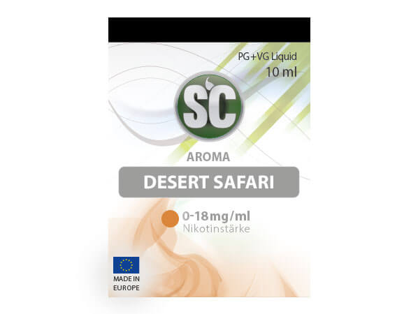 Desert Safari Tabak Liquid (10ml) 6 mg/ml