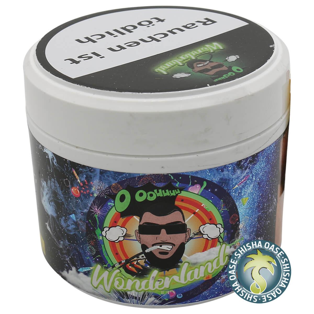OOOUUUU Gringo Smoke Tabak Wonderland 200g