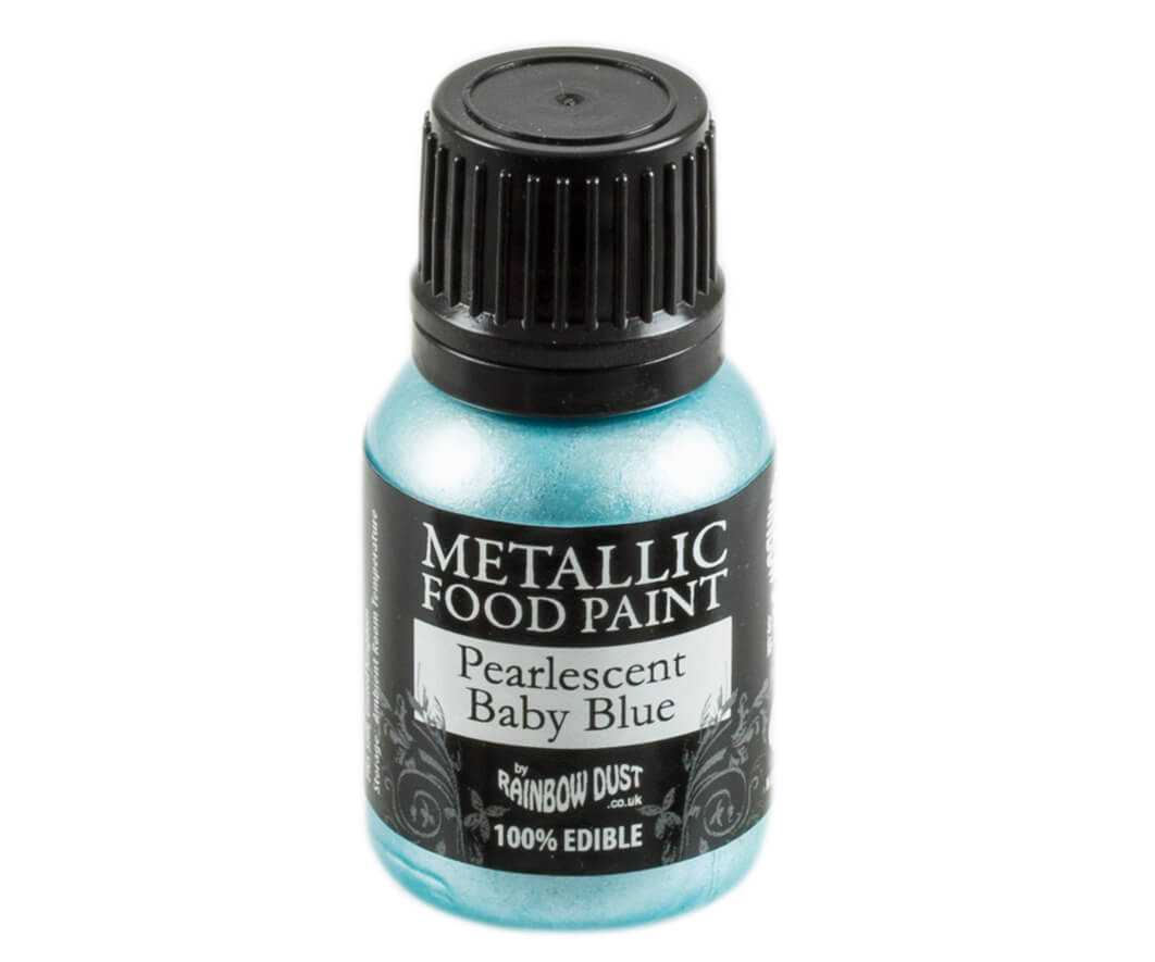 Rainbow Dust Metallic Farbe - Pearlescent Baby Blue