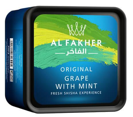 Al Fakher 200g Tabakersatz | Grape with Mint