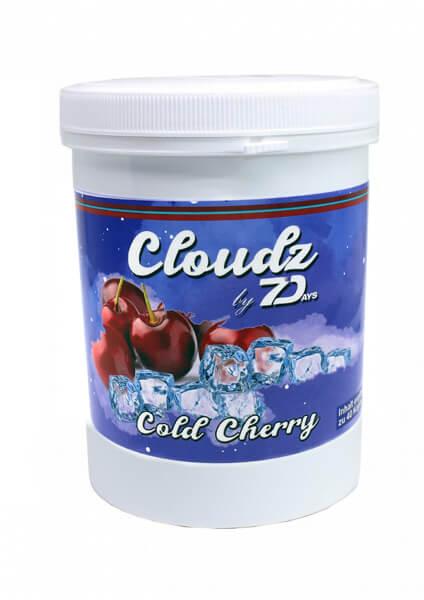 Cloudz by 7 Days Dampfsteine 500g | Cold Cherry