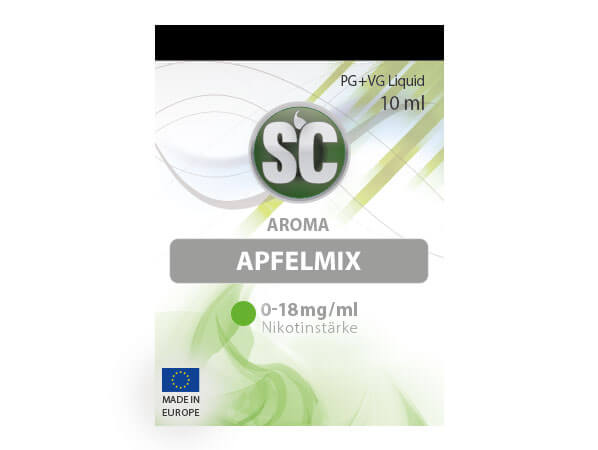 Apfelmix Liquid (10ml) 0 mg/ml