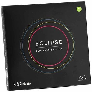 Eclipse LED Untersetzer mit Lautsprecher 15cm