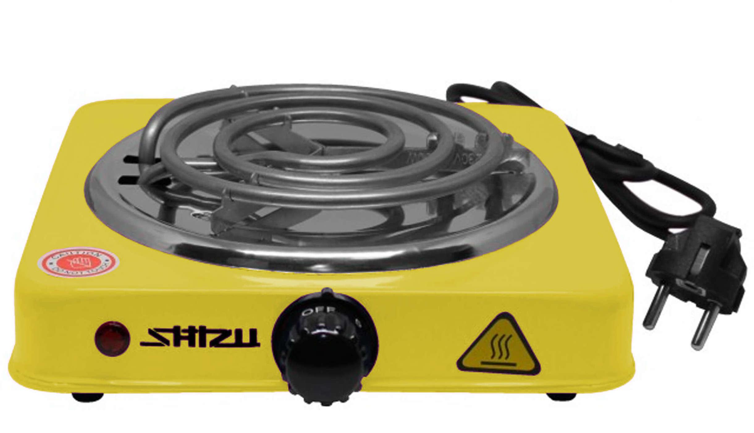 ShiZu - Kohleanzünder (elektrisch) | Gelb