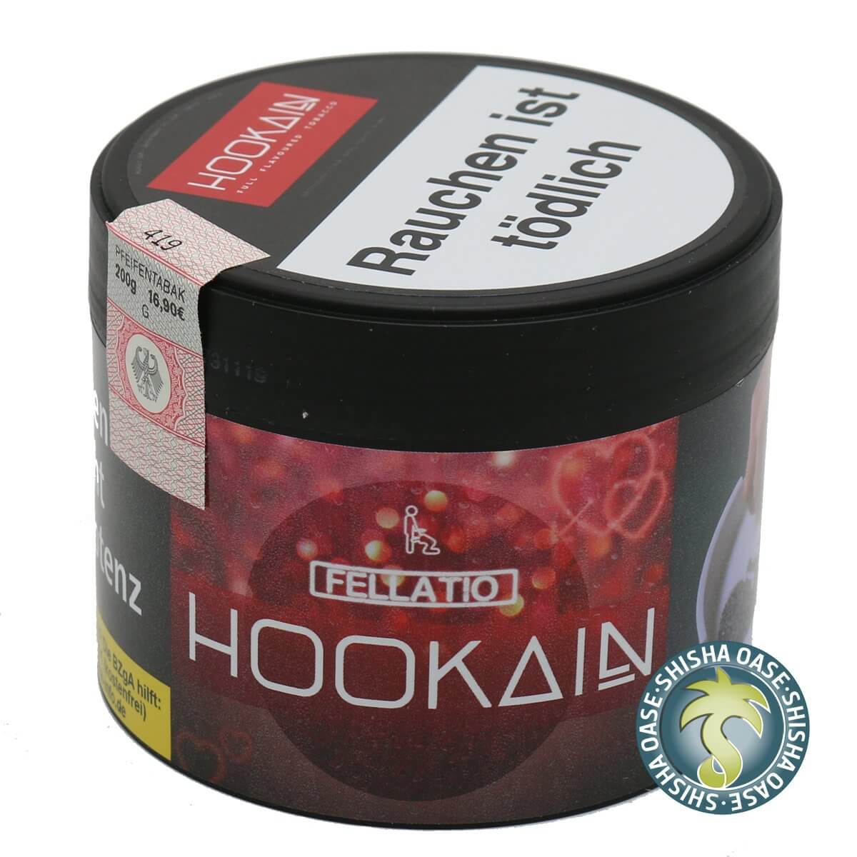 Hookain Tabak Fellatio 200g