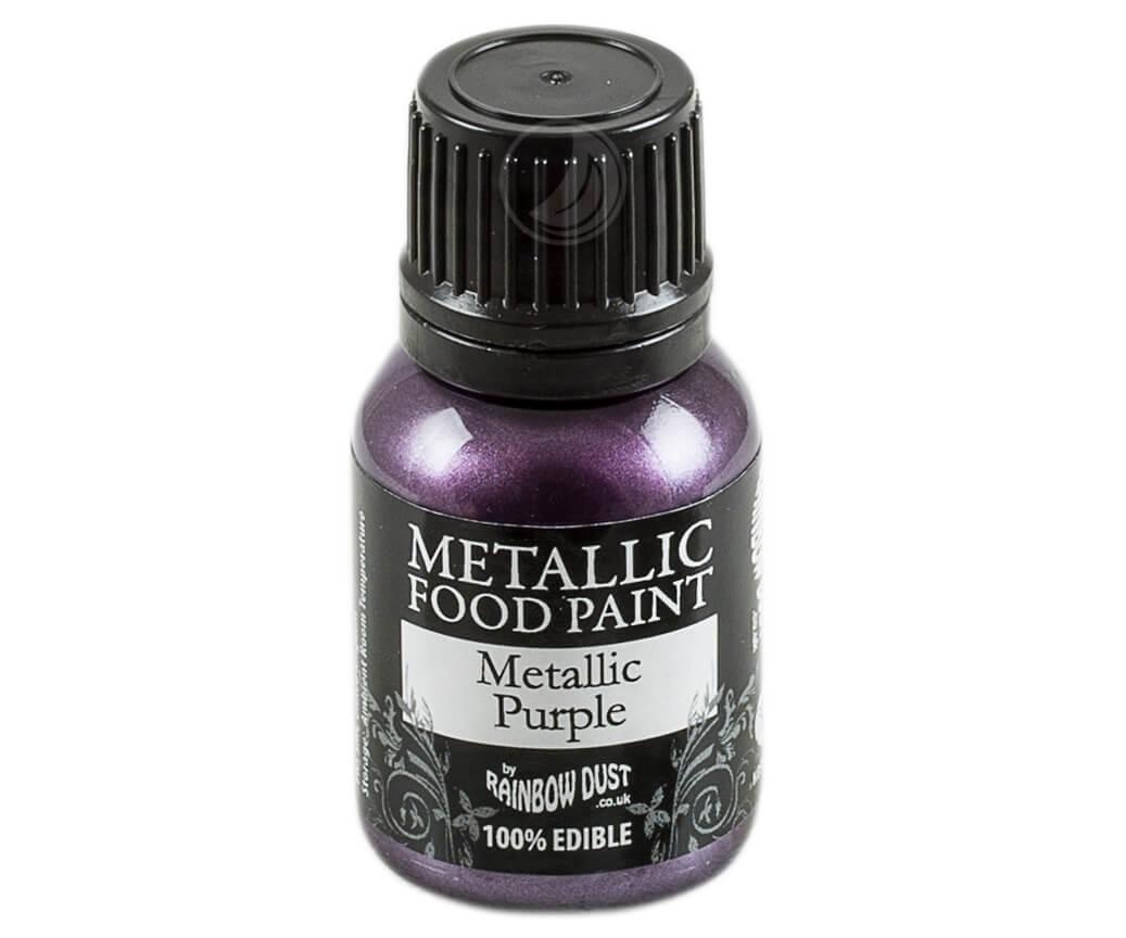 Rainbow Dust Metallic Farbe - Purple