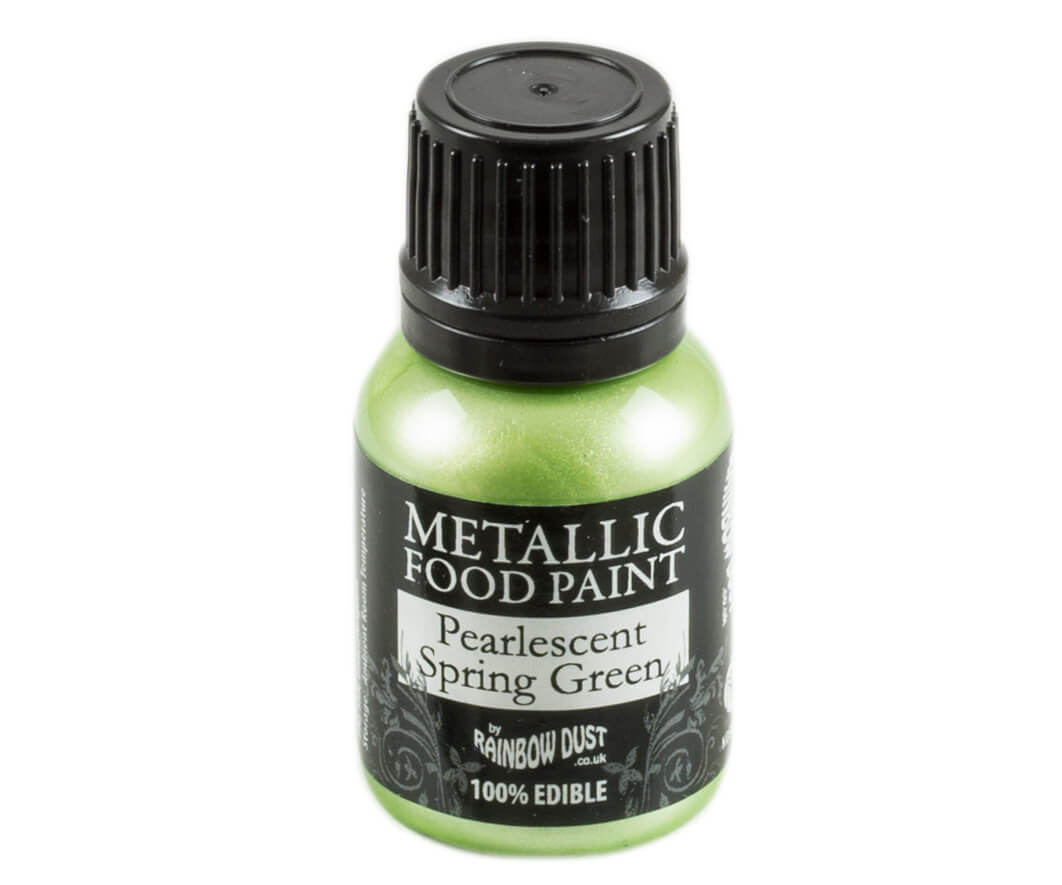 Rainbow Dust Metallic Farbe - Pearlescent Spring Green