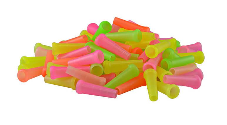Wasserpfeifen Mundstück - außen steckbar farbig - 100 Stück