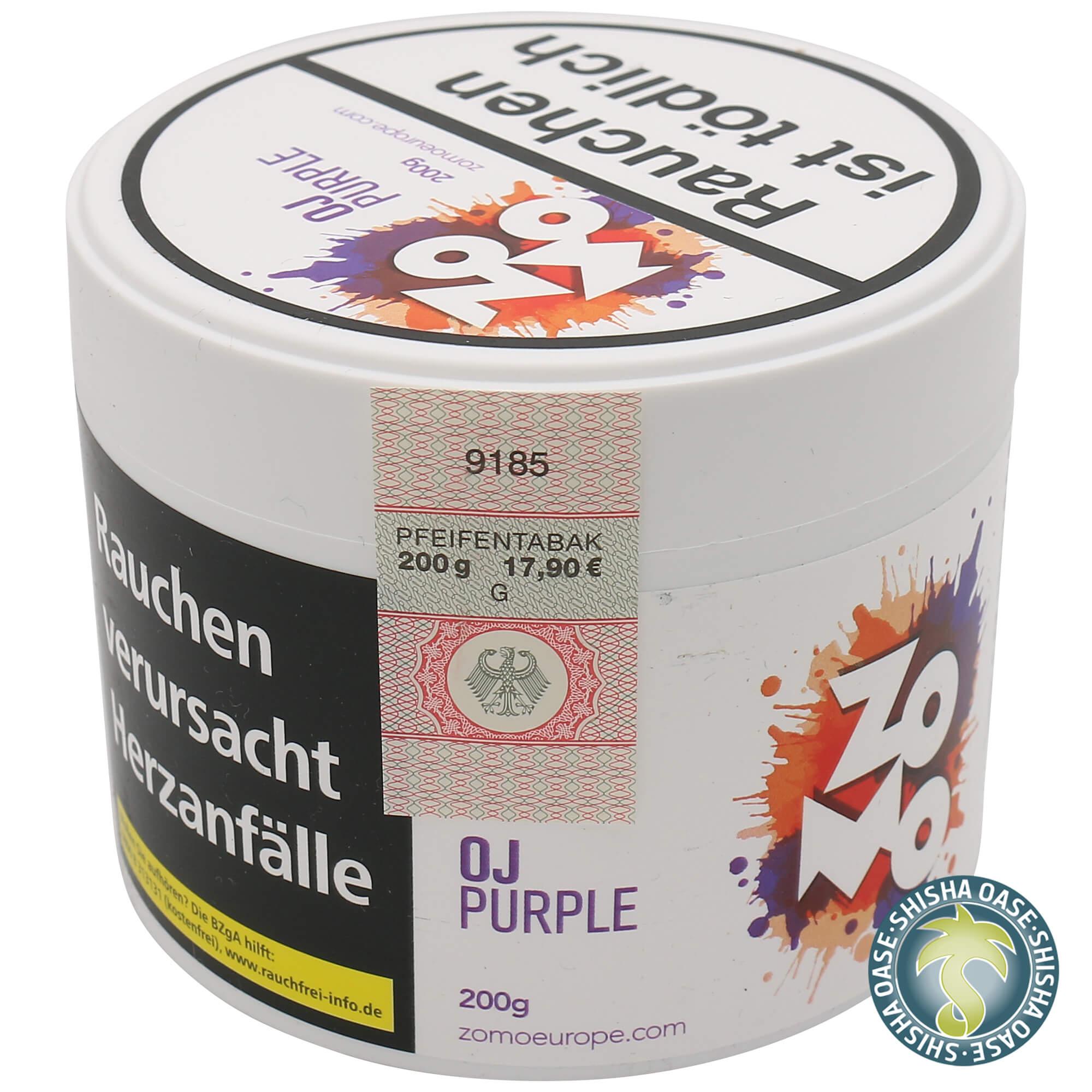Zomo Tabak Oj Purple 200g