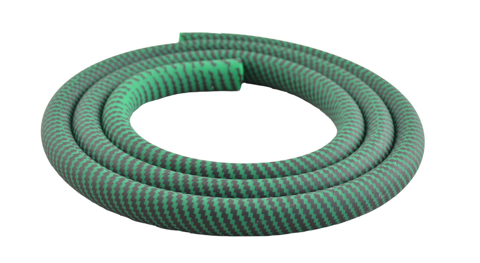 Silikonschlauch Soft Touch Carbonoptik (Grün)