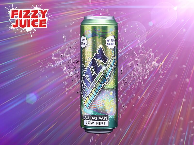 Fizzy Juice - Honeydew 55 ml - 0 mg/ml