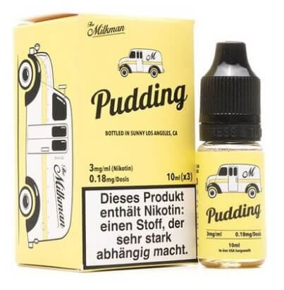 Pudding (3x10ml) - The Milkman Liquid - 0mg/ml