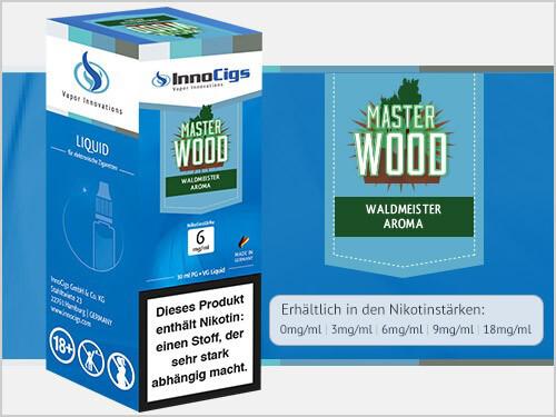 Innocigs Liquid - Master Wood Waldmeister Aroma - 0 mg/ml