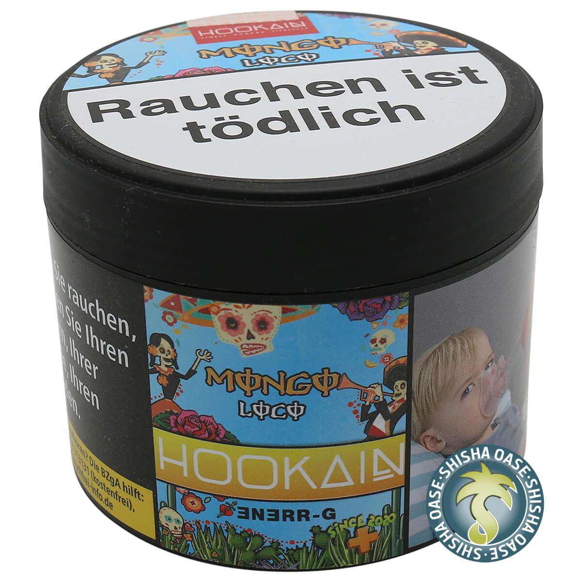 Hookain Tabak Mongo Loco RR 200g