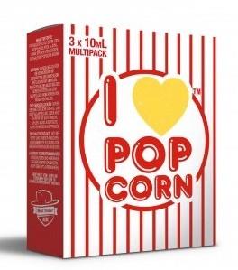 I Love Popcorn (3x10ml) - Mad Hatter Liquid - 6mg/ml