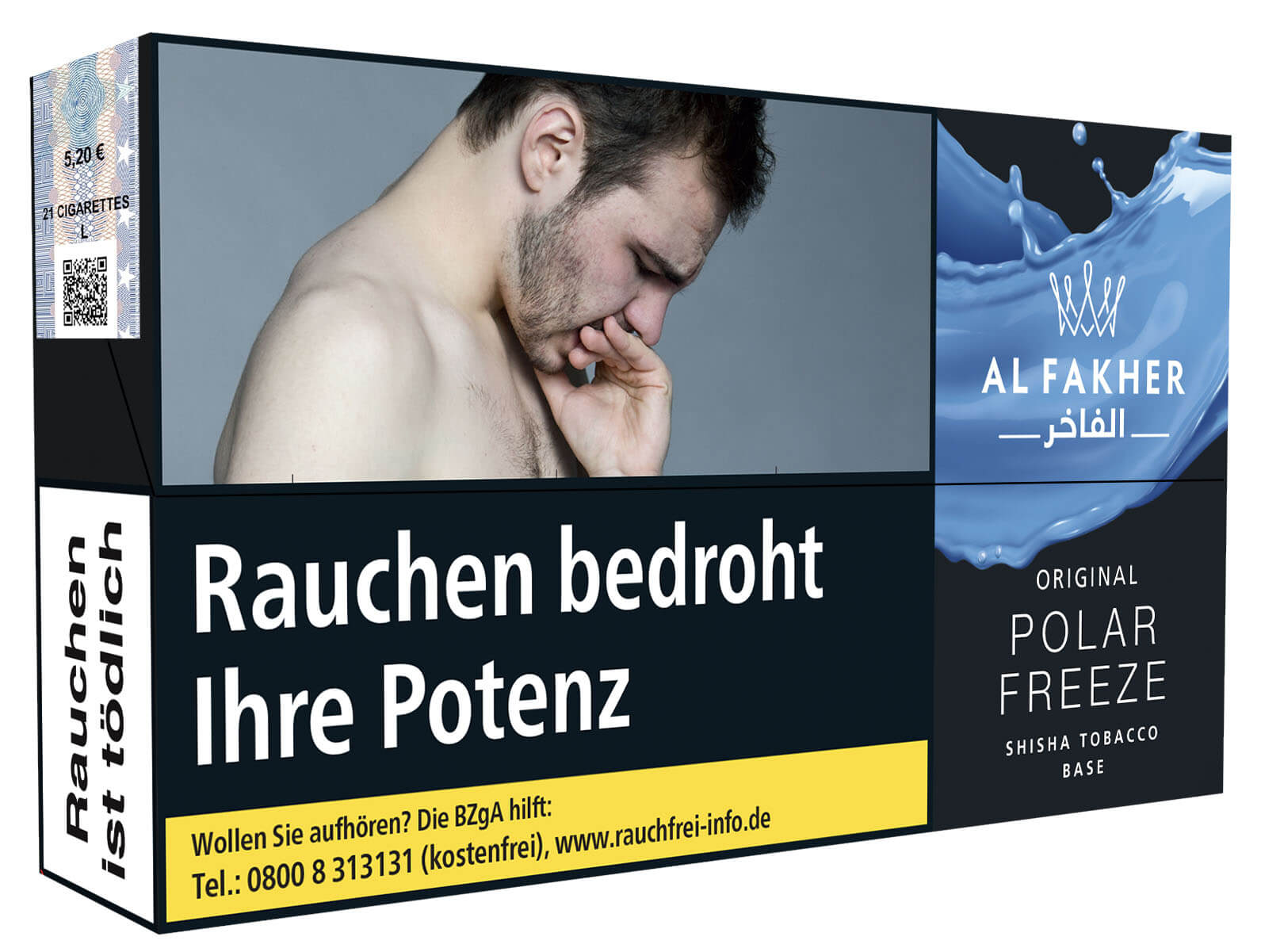 Al Fakher Tabak Polar Freeze 100g