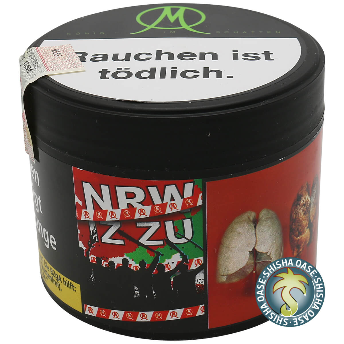 König im Schatten Tabak 200g Dose | NRW iz zu