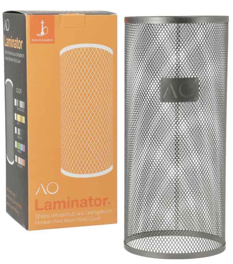 AO Laminator Windschutz (Gun Metal)