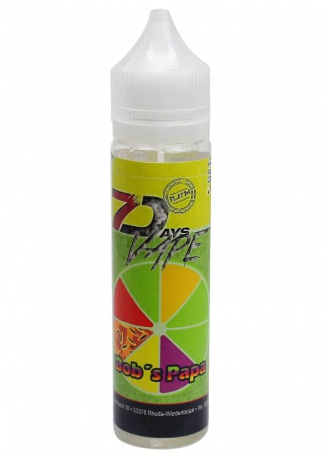 7 Days Liquid - Bob's Papa 50ml/0mg
