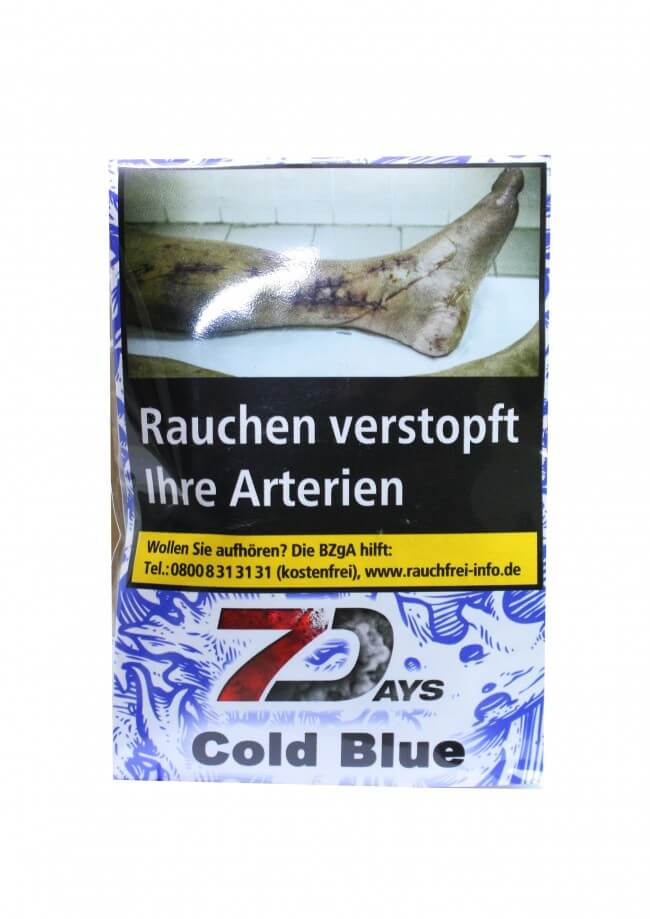 7 Days Classic Tabak - Cold Blue 20g