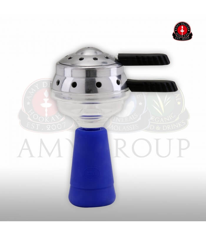 Amy Deluxe GlasSi Set mit Heatmanagement - Blau