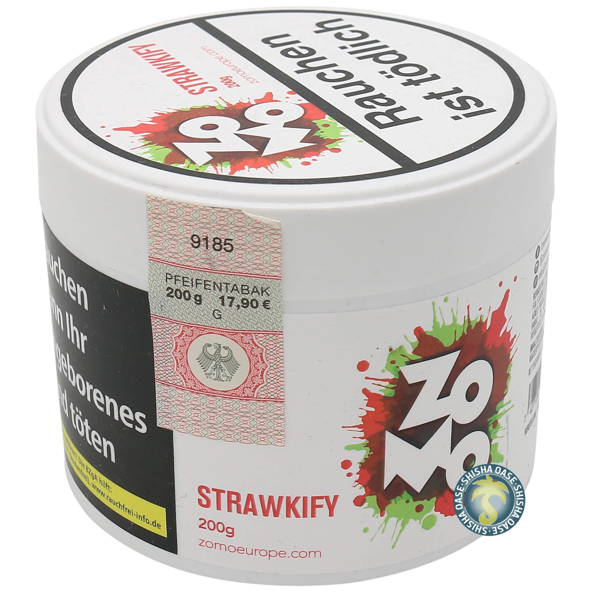 Zomo Tabak Strawkify 200g
