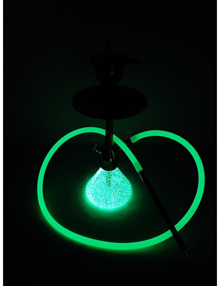 Smokah Shisha Neon Carbon | Grün | Edelstahl