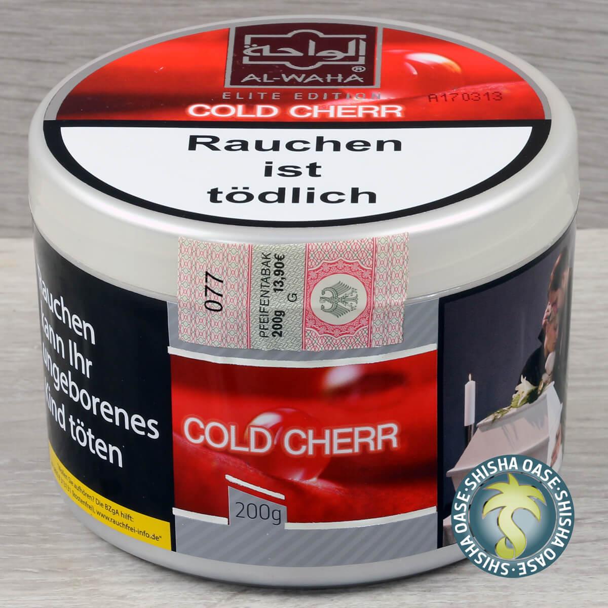 Al Waha Cold Cherr 200g Dose - rauchfertig